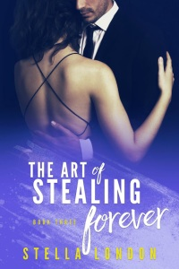 Book 3 Cover - The Art of Stealing Forever